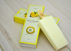 Picolé Limão Siciliano Packaging Ice Cream Design Packaging Design Popsicle