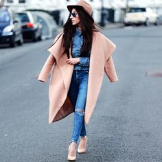 "lookbookdotnu: ""Double Denim (by Shay Mirza) "" thefashionablekelebek"