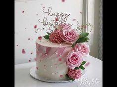 Flower Cake Mom Cake Flower Cake 80 Birthday Cake within Incredible Birthday Cake With Flowers - Party Supplies Ideas 60th Birthday Cake For Mom, Latest Birthday Cake, Birthday Cake With Flowers, Birthday Cakes For Teens, Cupcake Birthday Cake, Birthday Cake Decorating, Cool Birthday Cakes, 80 Birthday, Cake Flowers