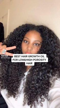 Curly Hair Styles Easy, Curly Hair Tips, Curly Hair Care, Natural Hair Styles, 4c Hair, Hair Oil, Natural Beauty, Low Porosity Hair Products, Hair Porosity