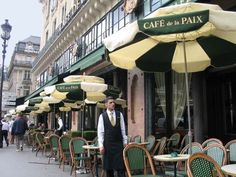 CAFÉ DE LA PAIX                                            Rue de la Paix, Paris