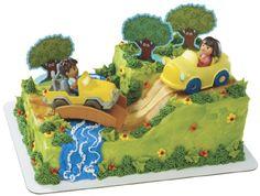 Dora and Diego Safari Party Cake Topper Set $16.99