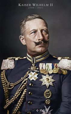 Wilhelm II German Kaiser and King of Prussia in garde artillerie uniform 1908 colorized by me Wilhelm Ii, Kaiser Wilhelm, World War One, First World, Otto Von Bismarck, King Of Prussia, Dress Shirts For Women, Queen Victoria, Military History