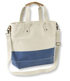 I didn't know a tote bag could cause me to have heart palpitations!  I'm in love.  <3 -L.L. Bean Nor'Easter Tote-  Go ahead, set this colorful tote on wet grass or drop it in a puddle or snowbank; it simply will not allow water to leak through.