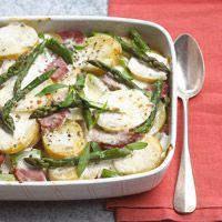 Potato-Ham Bake