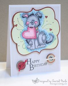 Doggie birthday card