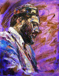 Thelonious Monk by Natasha Mylius Impressionism, Contemporary Impressionism, Fine Art, Canvas, Image, Painting, Art, Portrait, Prints
