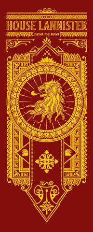 House Lannister Banner by olipop #got #agot #asoiaf