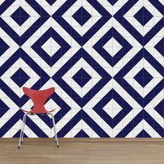 Metro Quadrado m² revestimento azulejo cerâmico decorado — Lurca
