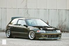 Honda Civic on CCW Classic Wheels and more mods. View full spec list.