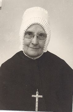 Dean of the Ursuline Sisters, Mother Chiarina Braito. She and her fellow Ursulines used their convents (in Italy close to the Swiss border) to hide and house escaping Jews and to lead them safely through the mountains to Switzerland.