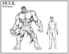bruce banner drawing - Google Search