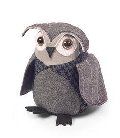 Dora Designs Little Owl Door Stop Owl Doorstop, Doorstop Pattern, Funny Owls, Paper Owls, Wise Owl, Little Owl, Patchwork Designs, Door Stop, Funny Design