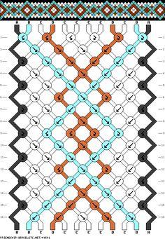 12 strings 4 colors 16 rows