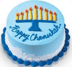Baskin-Robbins | Chanukah Menorah Cake (ice cream cake)