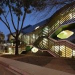university building in Melbourne by Australian architects Lyons is covered