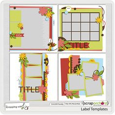 Label Templates by Scrapping with Liz