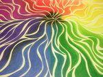 Neat, flowy color wheel idea