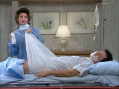 A funny scene from THE NANNY with Fran Drescher