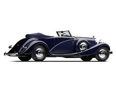 1935 Hispano-Suiza J12 Cabriolet by Vanvooren