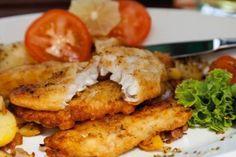 Рыба в сырном кляре