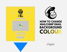 HOW TO CHANGE MAILCHIMP EMAIL BACKGROUND COLOUR - STEPS Marketing Ideas, Email Marketing, Digital Marketing, Social Media Training, Background Colour, Colorful Backgrounds, Infographic, Change, Learning