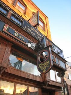 Raven Cafe in Port Huron, Michigan