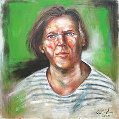Gazmend Freitags Selbstporträt Comic Art, Popular Paintings, Portrait, Austria, Self, Artist, Posts, Top, Linz