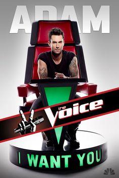 Adam...I want you:)  He's a dream.