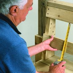 Step-by-step: How to build an arbor with a bench   Add the backrests   Sunset.com