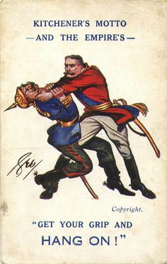 Kaiser & Kitchener Get a grip and hang on