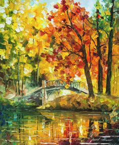Autumn Rest Art Print by Leonid Afremov. All prints are professionally printed, packaged, and shipped within 3 - 4 business days. Choose from multiple sizes and hundreds of frame and mat options.