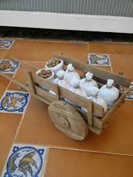 Resultado de imagen para Cestos para el Belen Christmas Nativity Scene, Christmas Town, Christmas Villages, Diy Popsicle Stick Crafts, Doll House Crafts, Miniature Crafts, Wedding Art, Miniature Furniture, Diy Dollhouse