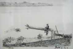 EE pencil on paper. Landscape Sketch, Paper Size, Thailand, Pencil, Painting, Outdoor, Art, Outdoors, Art Background