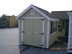 Kountry Shed Shed Makeover, Outdoor Structures, Shed