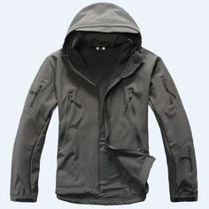 High quality Waterproof Windproof Lurker Shark skin Soft Shell Military Tactical Jacket