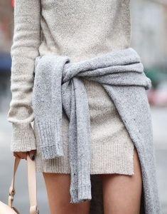 #fall #fashion / gray + gray