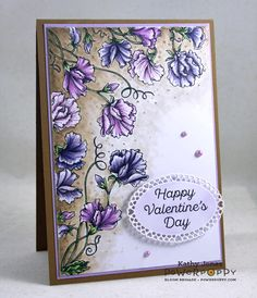 Inspired to Stamp: Sweet Pea Show!
