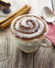 3. Paleo Cinnamon Roll in a Mug #healthy #meals http://greatist.com/eat/healthy-mug-recipes
