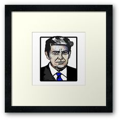 Trump Color Portrait