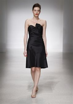 bm dress is a-line, similar to this style...actual photos to come