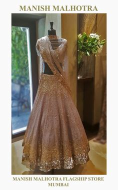 By designer Manish Malhotra. Bridelan - Personal shopper & style consultants for Indian/NRI weddings, website Indian Wedding Wear, Indian Bridal Outfits, Indian Bridal Lehenga, Indian Designer Outfits, Bridal Dresses, Designer Dresses, Indian Weddings, Nigerian Weddings, African Weddings