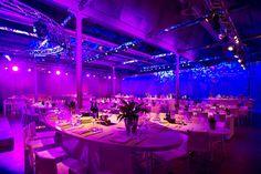 De industriële zalen in de Eskimofabriek in Gent, geven oneindig veel mogelijkheden voor de creatiefste feesten!
