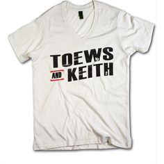 Toews and Keith Officially Licensed NHLPA Chicago Blackhawks V-Neck Mens XS-2XL Toews and Keith