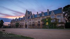 Christ Church college - Oxford England - Travel photography by pixael