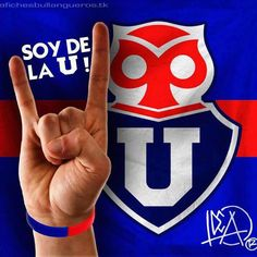 u de chile Chile, Drink Sleeves, Lol, Sports, Grande, Happy Birthday Cards, Invitation Cards, Moving Wallpapers, Football Team