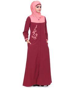 "Eid Ramadan Offer Best Quality Front Open Jilbab Abaya Maxi Dress - Medium, 56"" #ZetZone #Maxi #Formal"