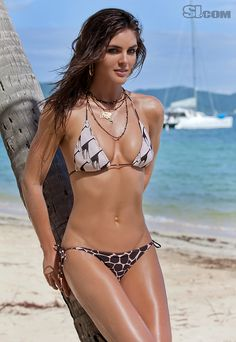 Hilary Rhoda - Sports Illustrated Swimsuit 2011 Location: Peter Island, British Virgin Islands, Peter Island Resort Swimsuit: Swimsuit by SALINAS Photographed by: Warwick Saint