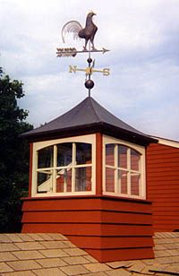 Cupola and Rooster Weathervane