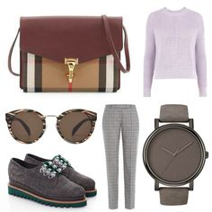 Elegant and chic outfit @burberry @hugo_official @mihaelaglavan  #stylishdressing #office #outfit #chic #burberry #mihaelaglavan #hugo #casualstyle #casual #elegant